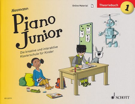 Piano Junior Theoriebuch 1