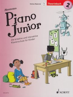 Piano Junior Theoriebuch 2